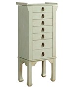 6 Drawer Jewelry Armoire