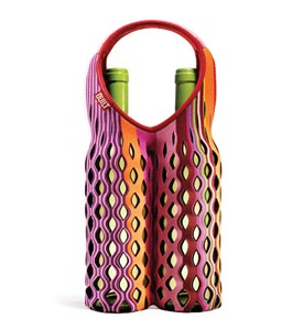 Fishnet Double Wine Bottle Tote - Nolita Stripe Image