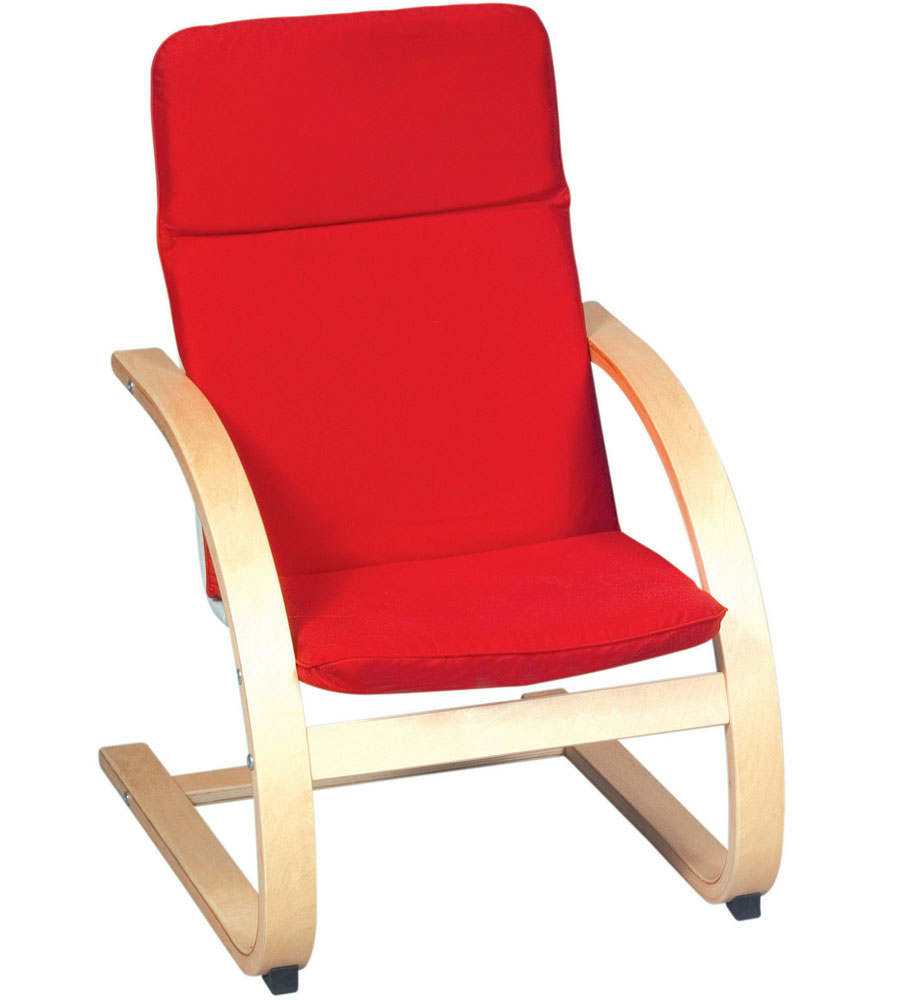 Kids rocker chair in kids lounge chairs for Toddler lounge chair