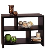 Northfield Bookcase Console by Convenience Concepts