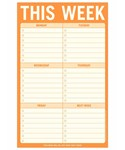 Note Pad - This Week