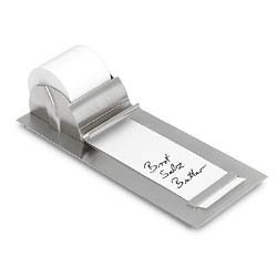 Notepaper Roll Holder - Stainless Steel Notepaper Roll Holder for Table or Wall Image