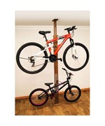 Floor-to-Ceiling Bike Storage Rack