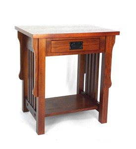 Mission Style Oak Night Stand Image