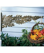 Outdoor Plant Hanger - Oak Leaf