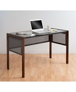 Calico Designs Office Line II Glass Top Desk by Studio Designs