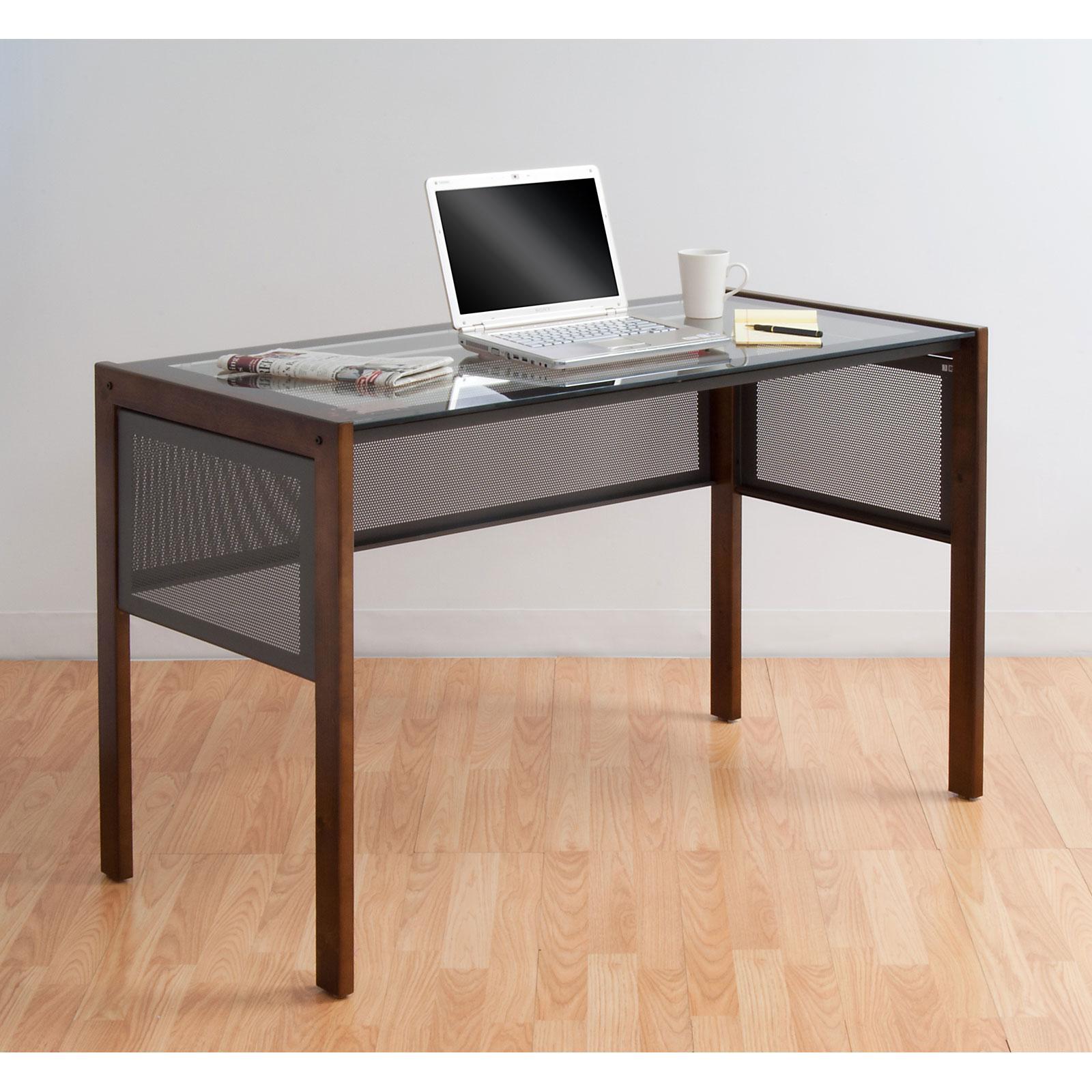 Calico Designs Office Line II Glass Top Desk By Studio Designs Price:  $74.99   $219.99