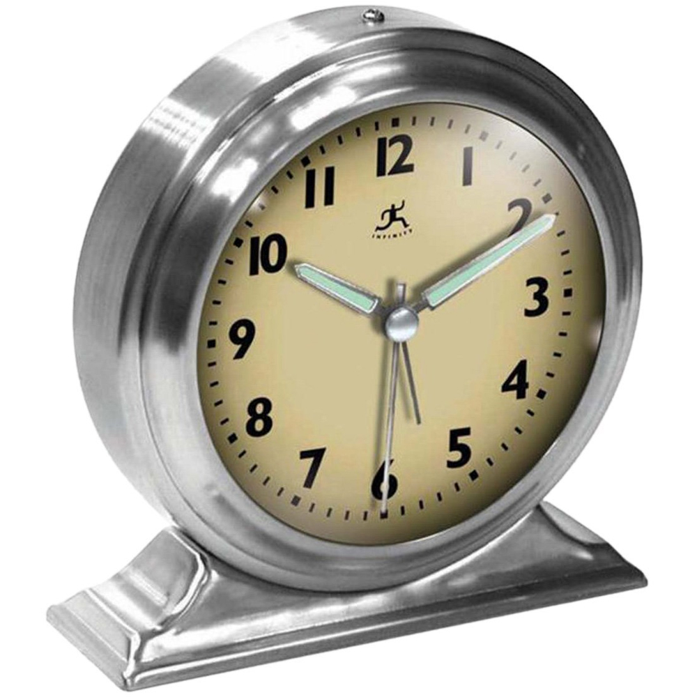 Old fashioned alarm clock in mantel clocks old fashioned alarm clock image amipublicfo Images