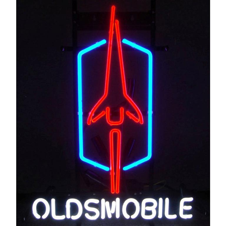 Oldsmobile Neon Sign - by Neonetics - 5OLDSM in Neon Signs