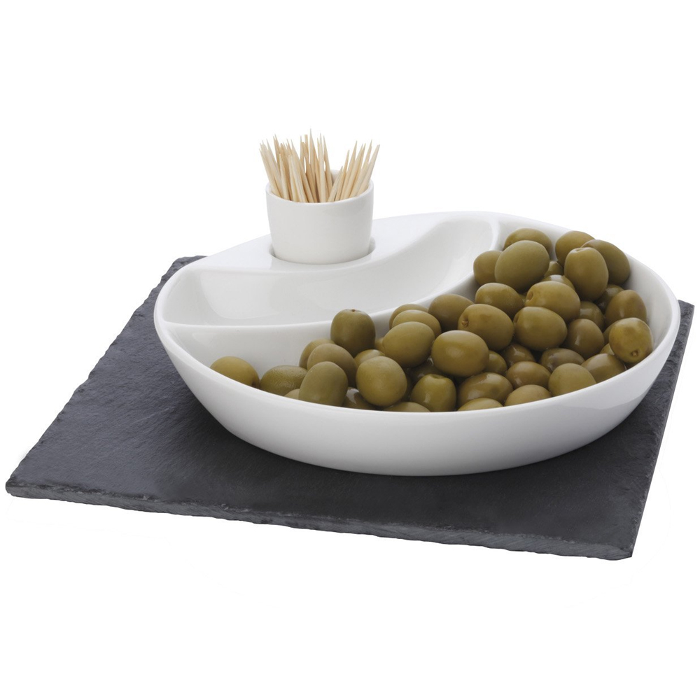 Olive Serving Dish In Serving Dishes