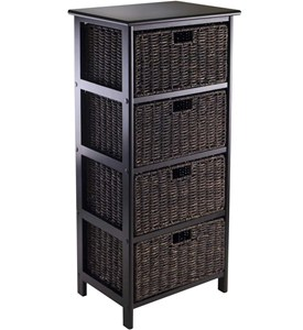 Omaha Storage Rack with 4 Baskets Image