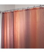 Fabric Shower Curtain - Brown