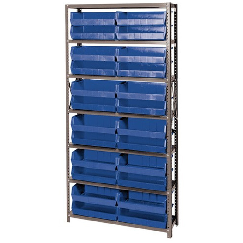 ... Open Hopper Storage Unit With 24 Bins By Quantum Storage Systems ...