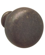 Round Cabinet Knob - Oil Rubbed Bronze