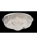 Orella Flush Mount Ceiling Lamp by Lite Source