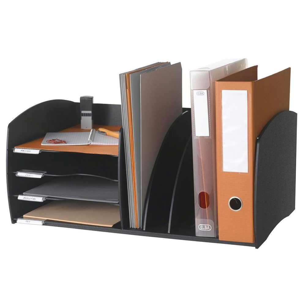 Desktop organizer in file and mail organizers - Desk top organizers ...