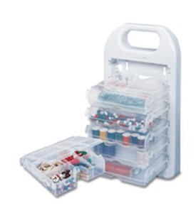 Portable Craft Organizer Caddy Image
