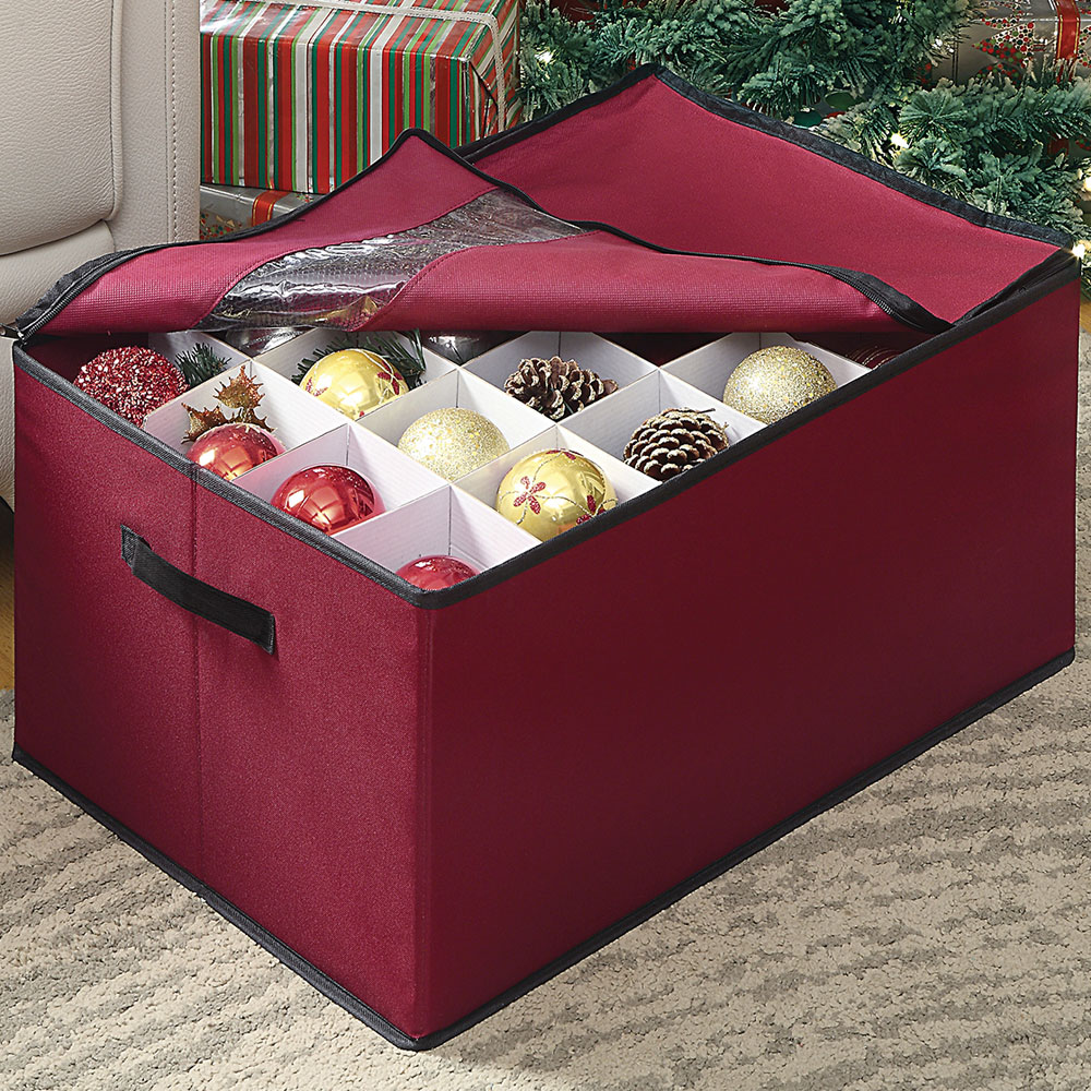 ... Christmas Ornament Storage, Ornament Storage Chest
