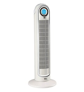 Oscillating Tower Fan With Ionizer - Remote Image
