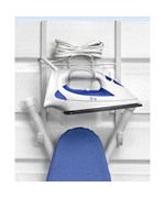 Over the Door Iron and Ironing Board Holder