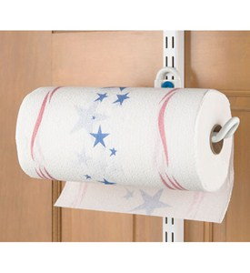 freedomRail Over Door Paper Towel Holder Image