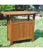 Outdoor Bar Table - Solid Wood
