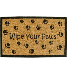 Welcome Mat - Wipe Your Paws Image