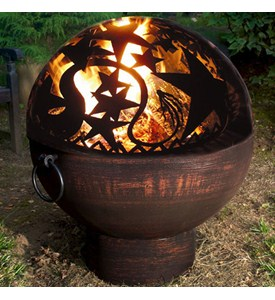 Outdoor Fire Bowl - Orion Fire Image