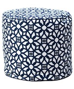 Outdoor / Indoor Weather Resistant Sunbrella Ottoman by Hudson