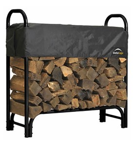 ShelterLogic Outdoor Log Rack - Small Image