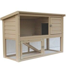 Outdoor Rabbit Cage Image