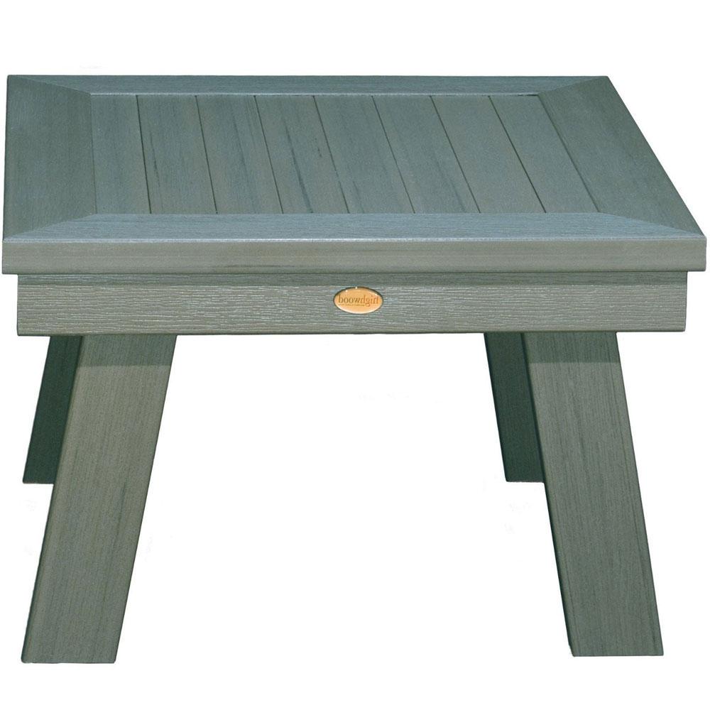 plastic side table