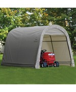 ShelterLogic Outdoor Storage Shed - Round Top