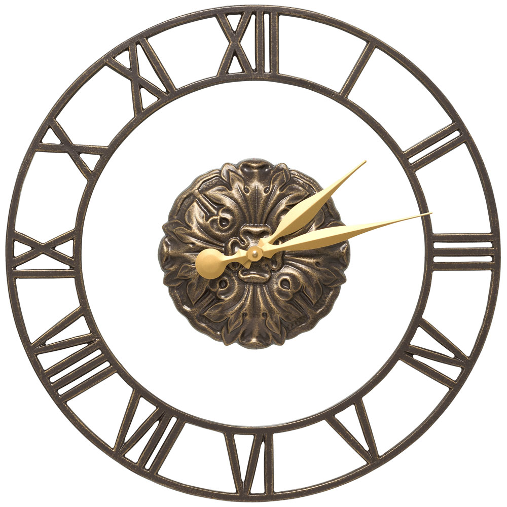 outdoor wall clock cambridge in outdoor clocks