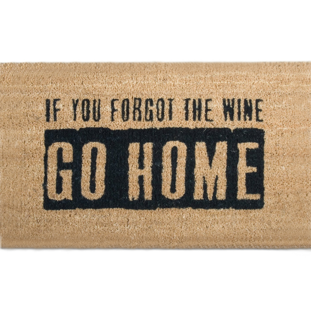 outdoor welcome mat where is the wine image