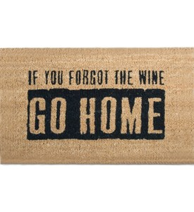 Outdoor Welcome Mat - Where is the Wine Image