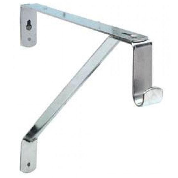 Oval Closet Rod And Shelf Support Bracket