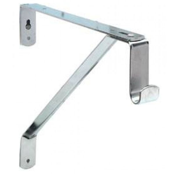 Oval Closet Rod And Shelf Support Bracket Price: $6.99