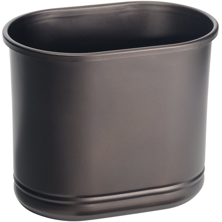 Metal Trash Can Bronze In Small Trash Cans