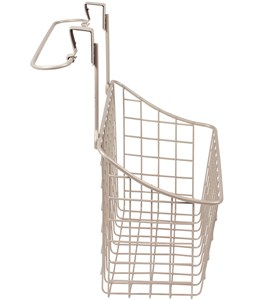 Over Cabinet Door Basket with Towel Rail Image