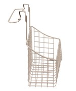 Over Cabinet Door Basket with Towel Rail