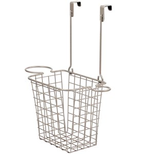 Over Cabinet Styling Rack with Basket Image