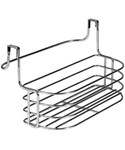 Over Door Towel Rack with Basket