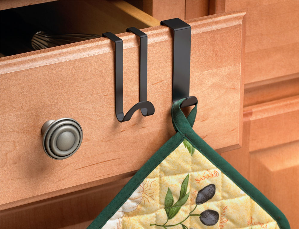 Over The Cabinet   Kitchen Towel Hooks Image