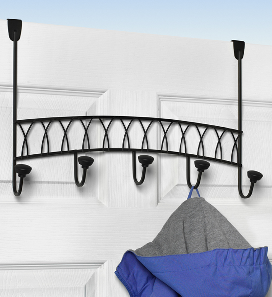 Great Over The Door Coat Rack   Twist Image