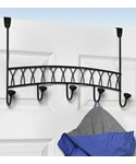 Over the Door Coat Rack - Twist