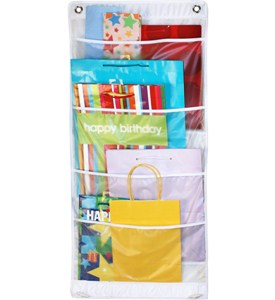 Over the Door Gift Bag Organizer Image