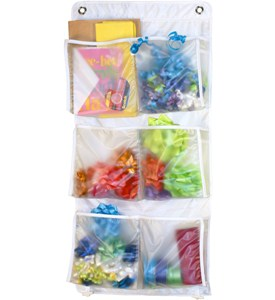 Over the Door Organizer - Ribbons and Bows Image
