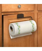Over the Door Paper Towel Holder - Bronze