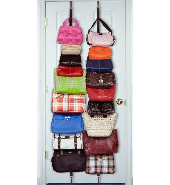 Over The Door Purse Organizer Set Of 2 In Purse Organizers
